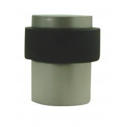 Butée de sol 40 mm Aluminium Nickelé Satiné