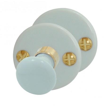 SET Rosaces Porcelaine ROND BLANC Conda/déconda