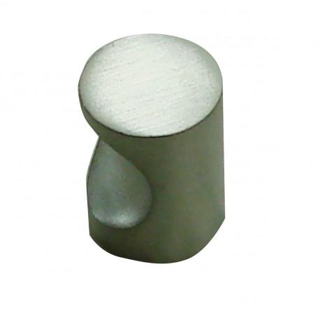 1 Bouton de Meuble ENCOCHE Inox Satiné D16mm