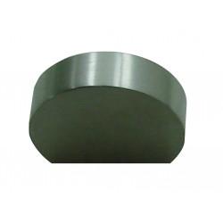 1 Bouton de Meuble PLAT Inox Satiné L29mm
