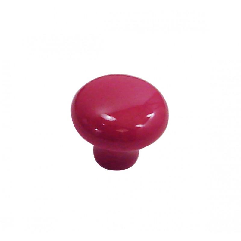 1 bouton de meuble ovalie vintage porcelaine rose framboise dt2000 poign e de porte et. Black Bedroom Furniture Sets. Home Design Ideas