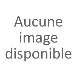 Ensemble/Plaque Béquille Double Cylindre Protégé ALPHA Aluminium BLANC 210